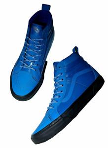 New Vans (Sk8-Hi 46 MTE DX) Leather Blue Skate Shoes Men's Size 10.5 NIB