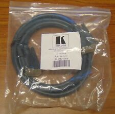Kramer DVI dual link cable M/M 6 foot NEW