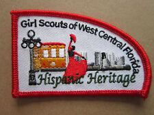 Hispanic Heritage Girl Scouts Fl BSA Cloth Patch Badge Boy Scouts Scouting (L2K)