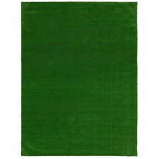 6 x 8ft Artificial Grass Rug Wear Stain Water Resistant Marine Backing Green New