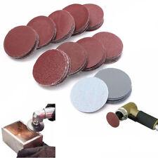 "100PCS 3"" 80-3000 Grit Sander Disc Car Sanding Polishing Pads Abrasive Sandpaper"