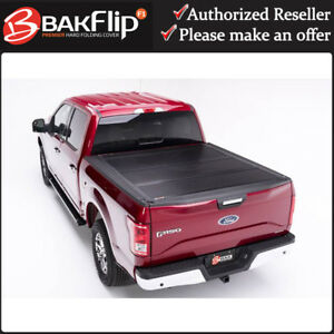 """Bakflip F1 Premium Tonneau Cover 772329 for 2015-2020 Ford F-150 5'6"""" Short Bed"""