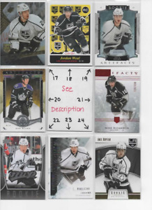 Los Angeles Kings * SERIAL #'d Rookies Autos Jerseys * ALL CARDS ARE GOOD CARDS*