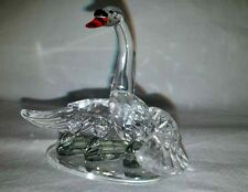 Retired SWAROVSKI CRYSTAL SWAN FAMILY Beauties of the Lake FREE US SHIP