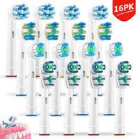16pcs Testine ricambio Compatibili Sensitive Clean spazzolino elettrico ORAL-B