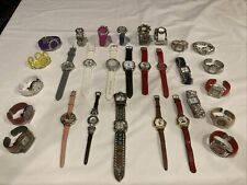 Lot of 29 Women's Vintage And Modern Watches Geneva Lorus Hugo Narmi Vivani Etc