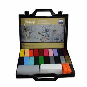 "Encaustic Künstler Wachsfarben Sortiment im Koffer ""Leonardo"""