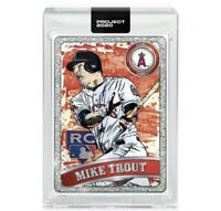 🔥Topps PROJECT 2020 Card SP #100-Mike Trout by James Blamieson - PRESALE 🔥