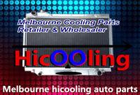 3 rows aluminum radiator for 80 Series Landcruiser 1HZ Diesel & 1HDT Turbo 90-98