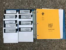 Apple II Desktop Toolkit ProDos Version developers 5.25 disks Vintage software