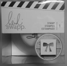 Heidi Swapp Bow Stamp 1-1/2 Inches American Crafts  Free Shipping NIP