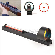 Ultralight Red Dot Red Fiber Holographic Scope Sight for Shotgun Rib Rail Rifle