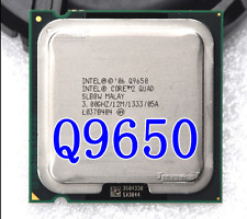 Intel Core 2 Quad Q9650 3 GHz 12 MB 1333 MHz 95W LGA 775 CPU Processor
