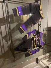 Cheerleading Uniform Allstars  Cheer HEAT REBEL XS BLING HIGH END 2 Pc Costume