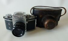 EXAKTA II Ihagee German SLR camera Bayonet Biotar lens 2/58mm Manual #664981