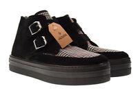 Victoria scarpe shoes donna sneakers alte con piattaforma 09243 nero n° 40