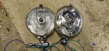 Pair Of Locas S.L.R 576 Spot Lamps Classic Vintage