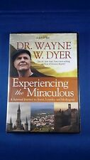 4 DVD set Dr. Wayne Dyer Experiencing the Miraculous new