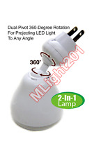 Smart Bright LED Motion-Activated Light With Photocell Sensor Rotational Arm