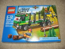 LEGO City 60059 Logging Truck Figures BRAND NEW SEALED