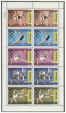YEMEN Kingdom Olympic Games 1972 Munich perforated set in block of 10 MNH