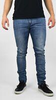 Men's Slim Fit Jeans Stretch Denim Pants Slim Skinny Casual Designer Jeans - New
