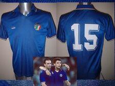 Italy Italia BAGGIO Diadora Shirt Jersey Football Soccer Adult M 1990 Vintage 15