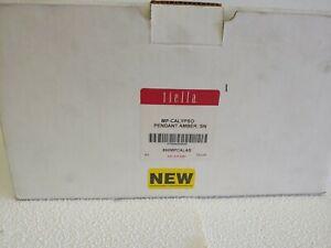 Tiella Pendant Light Kit 800MPCALAS Calypso Pendant Amber!  Beautiful!