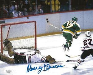 Murray Bannerman signed Chicago Blackhawks 8x10 photo autographed Hawks 6 JSA