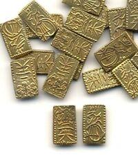 CIRCULATED 1832-1858 NISHU KIN JAPANESE GOLD SAMURAI BAR//COIN 2 SHU