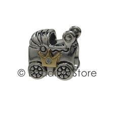 NEW Pandora Limited Edition Royal Baby Prince George Pram 14k CZ Charm 791209CZ