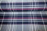 FREE SHIPPING ~ 5 Yards~ Burgundy  Moroon Tartan Plaid Fabric ~ Wool Blend