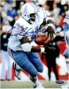 Earl Campbell Houston Oilers Autographed 8x10 Photo TRISTAR Coa