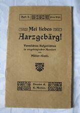 Müller-Emil  - MEI LIEES ARZGEBÄRG,  Mundart, Erzgebirge, Heft 2