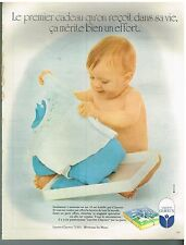 Publicité Advertising 1973 Pret a porter Vetements layette bébé Clayeux