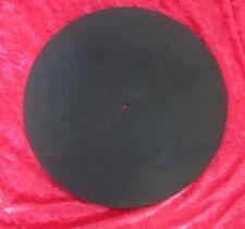 Negro ampliado Tocadiscos De Espuma Suave Estera para Rega Planar Tocadiscos (todos Los Modelos