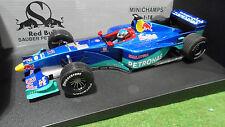 F1 SAUBER PETRONAS 1999 C18 ALESI #11 RED BULL 1/18 MINICHAMPS 180990011 voiture