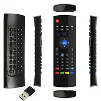 Deluxe 2.4G Wireless Remote Control Keyboard Air Mouse For XBMC Android TV Box