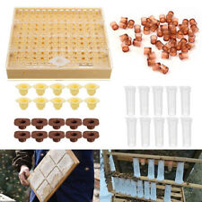 Cell Cups Cupkit Complete Bee Queen Rearing System Beekeeping Box Case Set New