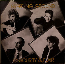 BREEDING GROUND: Obscurity & Flair-NM1989LP  w/ LYRICS INSERT CANADIAN IMPORT