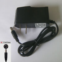 New 12V 1000mA 1A AC DC Adapter 5.5mm x 2.5mm Charger Power Supply Cord 12W