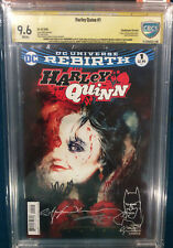 Bill Sienkiewicz ORIGINAL Signed 5X Sketch CBCS Batman Harley Quinn Joker CGC