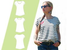 E-Book/Schnittmuster  Shirt Lady Summer Damen Gr: 32 - 48