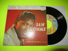 """SAM COOKE - SONGS BY SAM COOKE EP 45 7"""" VG+ PIC SLEEVE PICTURE"""