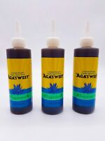 Organic Agave Nectar Peppermint Flavor Syrup Low Glycemic Vegan 12 oz 3-pack