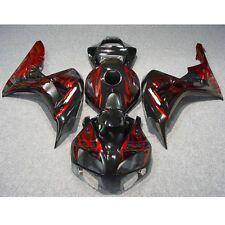 Black Injection ABS Fairing Bodywork Kit For Motorcycle Honda CBR1000RR 06-07
