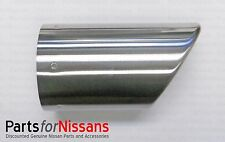 GENUINE NISSAN 2007-2012 ALTIMA SEDAN COUPE CHROME TIP DIFFUSER 2.5 ONLY NEW OEM
