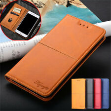 For Huawei P Smart Z Y9 Y7 Y6 2018 Flip Leather Magnetic Card Wallet Case Cover