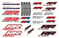 BMW S1000 RR Motorcycle Stickers Decals Set S1000RR Motorrad HP4 Racing /3