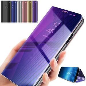 Handy Hülle Huawei P20 P30 Lite Pro View Case Flip Cover Tasche Schutzhülle Etui